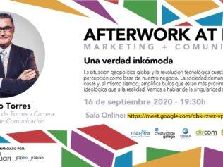 Vuelven los #AfterworkAtHome