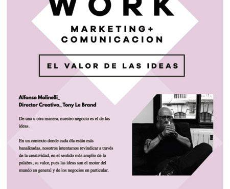 """Afterwork: """"O valor das ideas"""""""