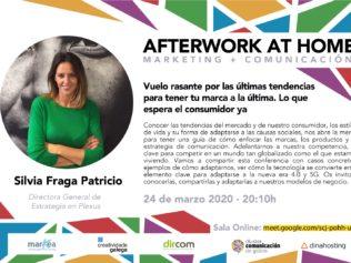 Afterwork AT HOME, con Silvia Fraga