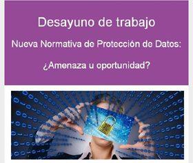 Almorzo de trabajo: Nova Normativa de Protección de Datos