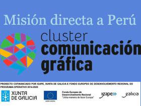O Cluster está organizando unha misión directa a Perú