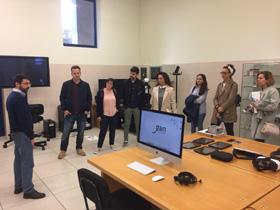 Os membros do Cluster visitan o CIS Galicia