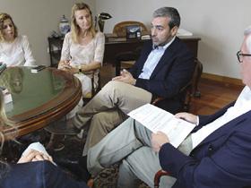 Reunión coa Confederación de Empresarios de Pontevedra
